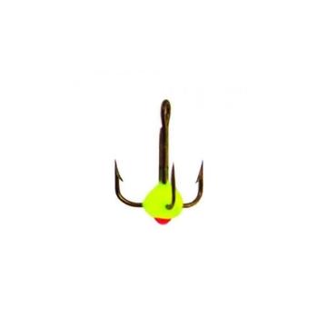 Крючок тройной LUCKY JOHN для приманок с каплей № 12 код цв. Y