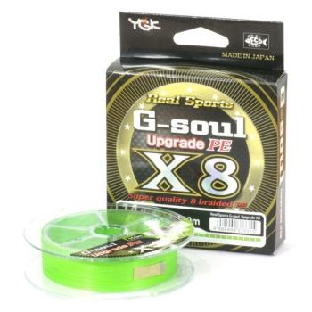 Плетенка YGK Real Sports G-Soul Upgrade PEx8 150 м цв. зеленый # 0,6 в интернет магазине Rybaki.ru