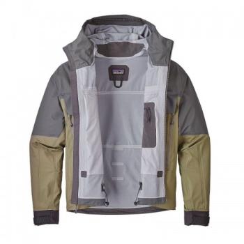 Куртка PATAGONIA Men's SST Jacket цвет Forge Grey в интернет магазине Rybaki.ru
