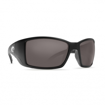 Очки поляризационные COSTA DEL MAR Blackfin 580P р. L цв. Matte Black Global Fit цв. ст. Gray