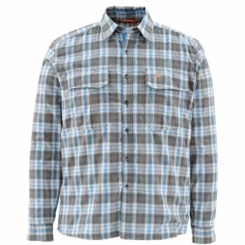 Рубашка SIMMS Coldweather LS Shirt цвет Tidal Blue