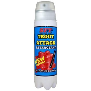 Аттрактант-спрей SFT Trout Attack с запахом икры в интернет магазине Rybaki.ru