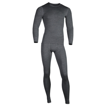 Комплект термобелья MONTERO Wool Lite цвет gray в интернет магазине Rybaki.ru