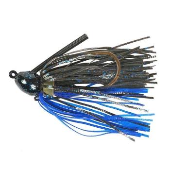 Бактейл STRIKE KING Bitsy Bug mini jig 5,25 г (3/16 oz) цв. black / blue