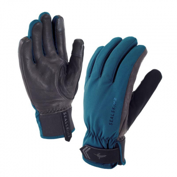 Перчатки SEALSKINZ Women's All Season Glove цвет Pine / Black