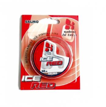 Леска LUCKY JOHN Hi-Tech Ice 30 м 0,17 мм цв. красный в интернет магазине Rybaki.ru