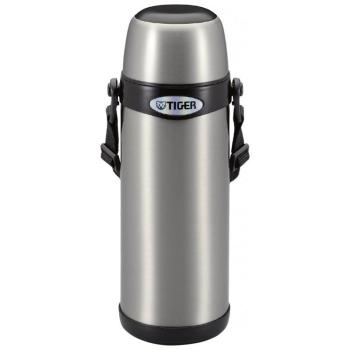 Термос TIGER MBI-A080 Clear Stainless 0,8 л цв. серебристый с черным в интернет магазине Rybaki.ru
