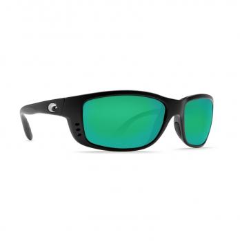 Очки поляризационные COSTA DEL MAR Zane W580 р. L цв. Matte Black цв. ст. Green Mirror Glass