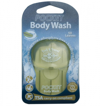 Мыло сухое SEA TO SUMMIT Trek & Travel Pocket Body Wash 50 Leaf
