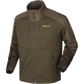 Куртка HARKILA Magni Fleece Jacket цвет Willow green / Shadow brown