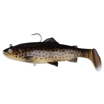 Приманка SAVAGE GEAR 3D Trout Rattle Shad 12,5 см цв. 03-Dark Brown Trout