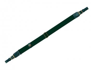 Ремень погонный RISERVA хлопок/ кожа 90 - 110 см