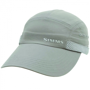 Кепка SIMMS Flats Long Bill Cap цв. Gunmetal в интернет магазине Rybaki.ru