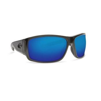 Очки COSTA DEL MAR Cape 580 P р. XL цв. Shiny Steel Gray Metallic цв. ст. Blue Mirror
