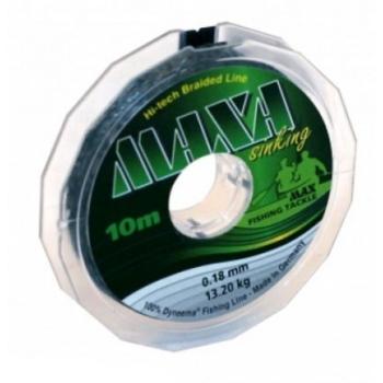 Плетенка MAXA Sinking 10 м 0,12 мм цв. темно-зеленый в интернет магазине Rybaki.ru