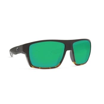 Очки поляризационные COSTA DEL MAR Bloke 580G р. XL цв. Matte Black/Shiny Tortoise цв. ст. Green Mirror