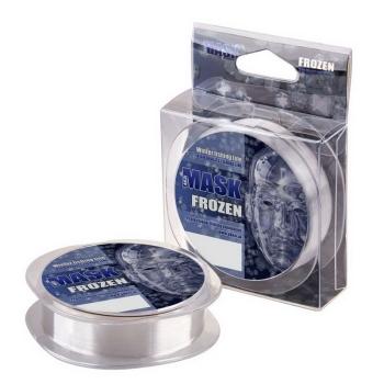 Леска зимняя AKKOI Mask Frozen 50 м 0,1 мм цв. прозрачный в интернет магазине Rybaki.ru