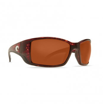 Очки поляризационные COSTA DEL MAR Blackfin W580 р. L Global Fit цв. Tortoise цв. ст. Copper Glass