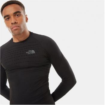 Футболка THE NORTH FACE Men's Sport LS Top цвет BLACK / ASPHALT GREY