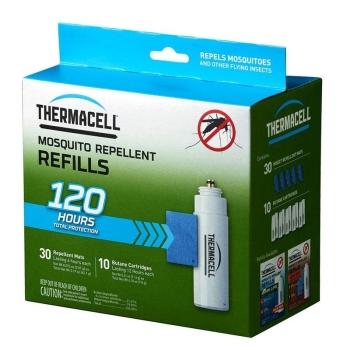 Набор запасной THERMACELL Mega Refill (10 газовых картриджей + 30 пластин) в интернет магазине Rybaki.ru