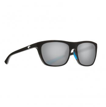 Очки поляризационные COSTA DEL MAR Cheeca 580P р. S цв. Shiny Black цв. ст. Gray Silver Mirror