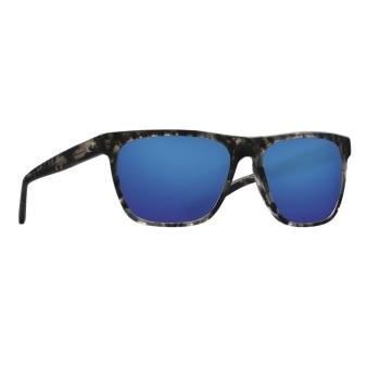 Очки поляризационные COSTA DEL MAR Apalach 580G р. XL цв. Shiny Black Kelp цв. ст. Blue Mirror
