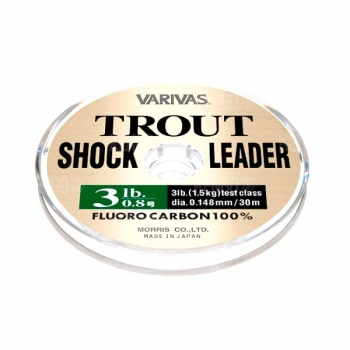 Флюорокарбон VARIVAS Trout Shock Leader 30 м # 3 в интернет магазине Rybaki.ru