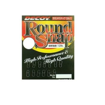 Карабин металлический DECOY Round Snap № 2 (13 шт.)