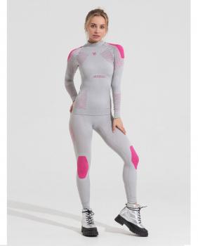 Комплект термобелья V-MOTION Alpinesports женский цвет серебристый