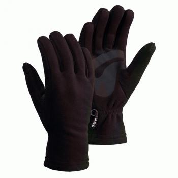 Перчатки SIVERA Тикша флисовые цвет чёрный
