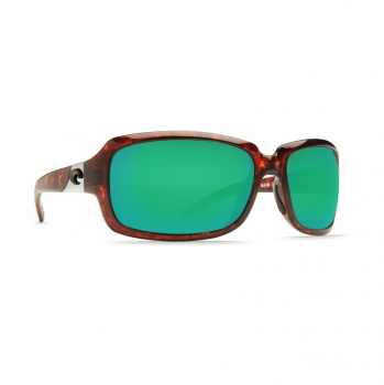 Очки поляризационные COSTA DEL MAR Isabela C-Mate 2.00 р. L цв. Tortoise цв. ст. Green Mirror