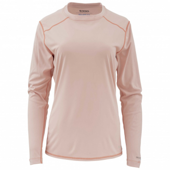 Футболка SIMMS Women's Solarflex LS Crewneck цвет Light Pink