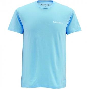 Футболка SIMMS Deyoung Tarpon цвет light blue