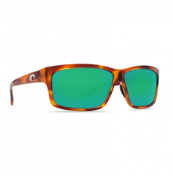 Очки поляризационные COSTA DEL MAR Cut W580 р. L цв. Honey Tortoise цв. ст. Green Mirror Glass