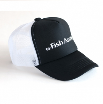 Кепка FISH ARROW Mesh Cap FA цв. Black/White в интернет магазине Rybaki.ru