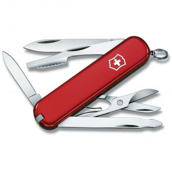 Нож VICTORINOX Executive 74мм 10 функций цв. красный