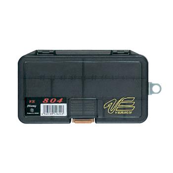 Коробка MEIHO Versus Worm Type VS-804 р. W-M цв. черный прозрачный в интернет магазине Rybaki.ru