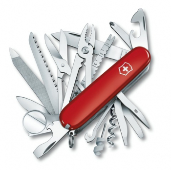 Нож VICTORINOX SwissChamp XLT 91мм 50 функций цв. красный