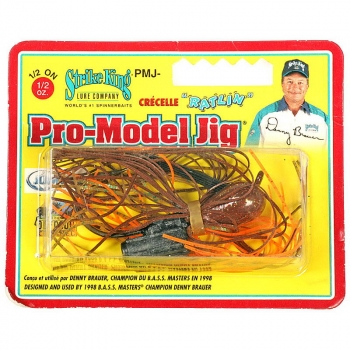 Бактейл STRIKE KING Pro-Model Jig 14 г (1/2 oz) цв. cajun craw