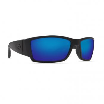 Очки поляризационные COSTA DEL MAR Corbina 580P р. L цв. Blackout цв. ст. Blue Mirror