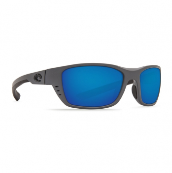 Очки поляризационные COSTA DEL MAR Whitetip W580 р. M цв. Matte Gray цв. ст. Blue Mirror Glass