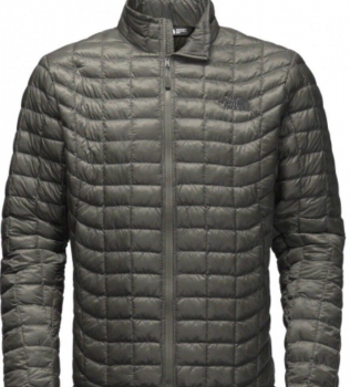 Куртка THE NORTH FACE Thermoball Jacket цвет Black / Fusebox Grey