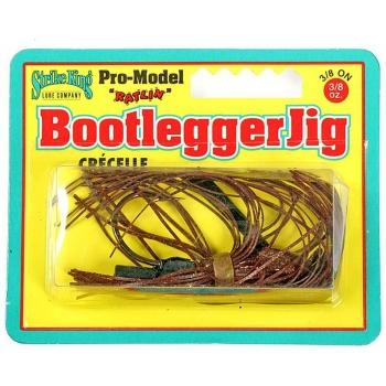 Бактейл STRIKE KING Bootlegger Jig 10,5 г (3/8 oz) цв. chameleon craw