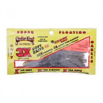 Рак STRIKE KING 3X Craw 11,5 см код цв. 46 цв. коричневый / черные блестки