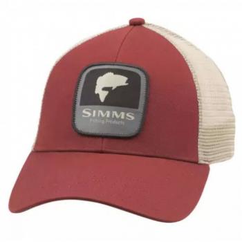 Кепка SIMMS Bass Patch Trucker цв. Rusty Red
