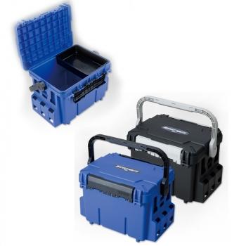 Ящик-стойка MEIHO BM-7000 Bucket Mouth 28 л цв. голубой