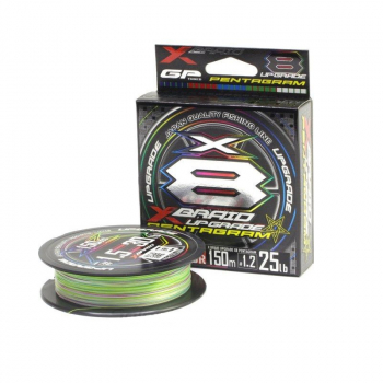 Плетенка YGK X-Braid Upgrade X8 Pentagram 150 м #1 в интернет магазине Rybaki.ru