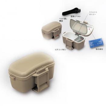 Коробка-холодильник MEIHO №204 Bait Cooler цв. оливковый в интернет магазине Rybaki.ru