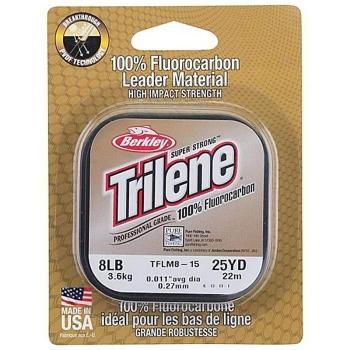 Флюорокарбон BERKLEY Trilene 100% Fluorocarbon 25 м 0,3 мм в интернет магазине Rybaki.ru