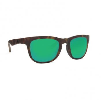 Очки поляризационные COSTA DEL MAR Copra 580P р. M цв. Matte Retro Tortoise/Crystal/Black цв. ст. Green Mirror